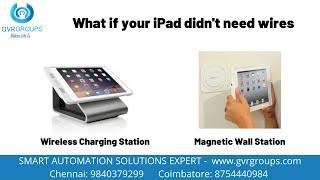 GVR Groups - Inductive Charging and Mounting Station for Ipad